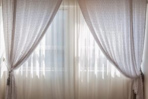 Beige Curtain